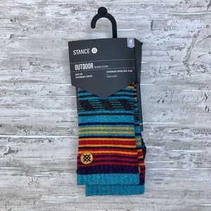 Stance Outdoor Merino Wool Blend Crew Socks
